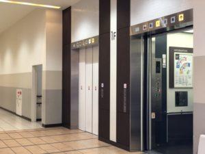 滋賀フォレオ南エレベーター